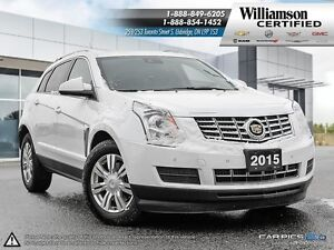 2015 Cadillac SRX NAV**AWD**LTHR**SUNROOF**BCK UP CAM