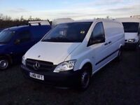61 REG MERCEDES VITO 2011 lwbase in vgcondition 1YEARS MOT 6 SPEED GEARBOX ANY TRIAL WELCOME PX .?