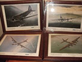 Hand Signed Keith Hill Aviation Pictures