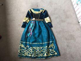 Disney Brave and Rapunzel dress up age 9-10