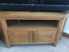 Solid Oak TV, tables & Sideboard