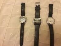 I have 3 watches i am selling them for 20 each or all 3 of them for 50