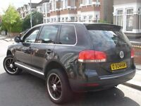 /// VW VOLKSWAGEN TOUAREG SPORT 2.5 TDI AUTOMATIC DIESEL /// 2004 PLATE /// BARRRGAINNN 4X4 JEEP