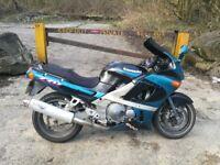 Kawasaki ZZR 600 MOT, fresh service, excellent bike