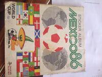 Panini Mexico World Cup 1986' Rare Sticker Book