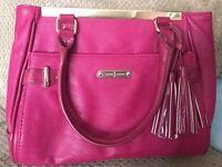 Jasper Conran pink handbag