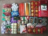 Joblot of Christmas items - some never used