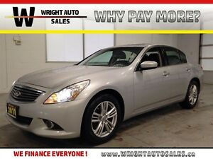 2011 Infiniti G37 SPORT| AWD| LEATHER| SUNROOF| BACKUP CAM| 115,