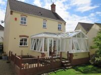 L-shaped conservatory (buyer to dismantle and remove)