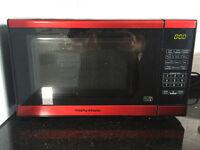 Morphy Richards EM820 Standard Microwave - Red.