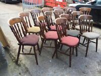Chairs pub restaurant 17