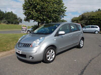 NISSAN NOTE ACENTA AUTOMATIC MPV STUNNING SILVER 2007 BARGAIN ONLY 1450 *LOOK* PX/DELIVERY