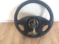 Vr6 steering wheel with airbag