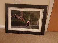 Signed Michael Dunlop picture