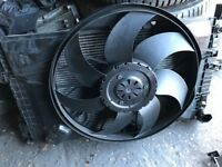 05 MERCEDES C220 CDI RADIATOR FAN WORKING AND TESTED
