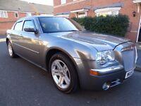 2007 CHRYSLER 300C 3.0 CRD V6 DIESEL AUTO STUNNING FULL LEATHER SAT NAV LOOK