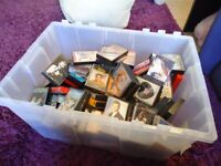 BOX OF 155 MIXED MUSIC CASSETTES ~ POP / ROCK / COUNTRY / EASY LISTENING ~ EXCELLENT CONDITION.