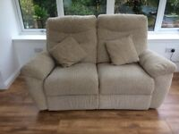 2 Seatter Manual Reclining Sofa