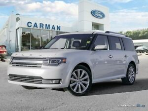 2017 Ford Flex Limited Leather Sunroof Park Assist