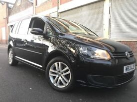 Volkswagen Touran 2013 2.0 TDI SE DSG 5 door AUTOMATIC, 1 OWNER, FSH, 6 MONTH WARRANTY, BARGAIN