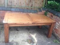 Extending Dining Table Solid Wood Mark Webster Design Ex Display RRP £639