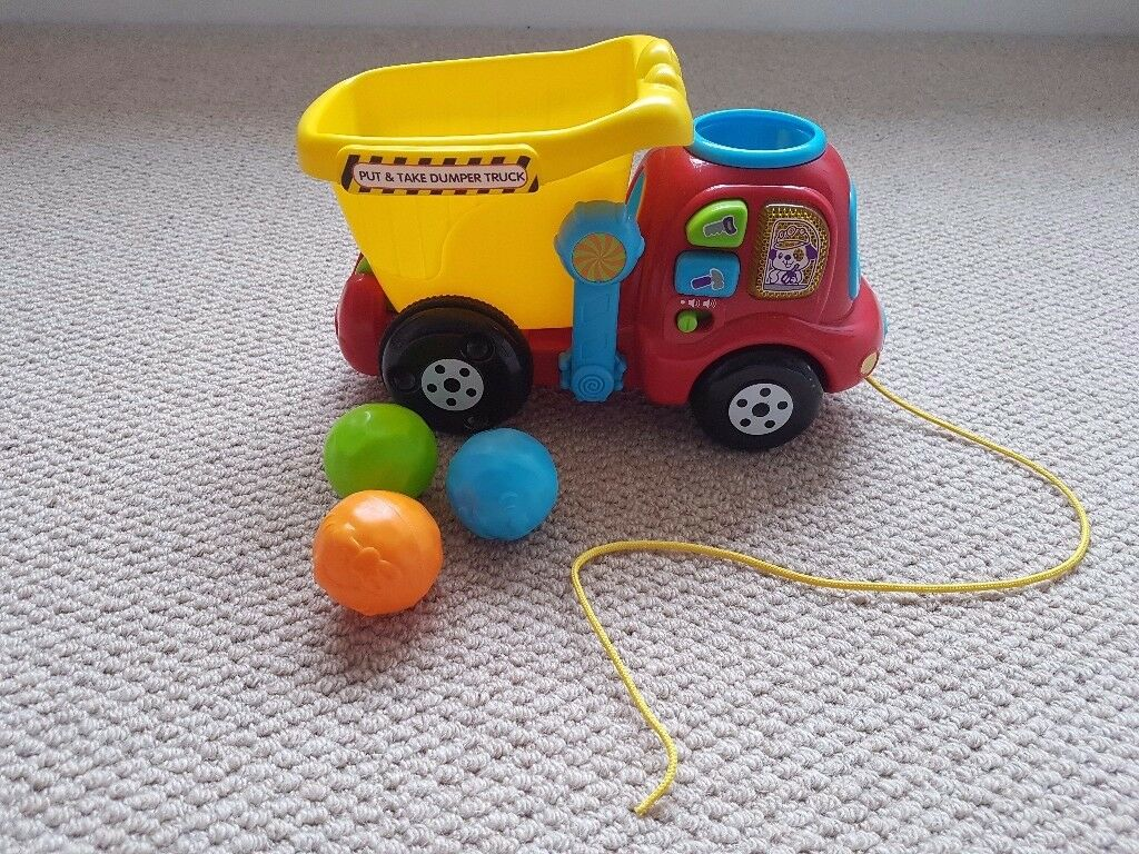 Vtech put and take dumper truck baby toddler toy