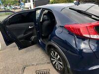 Honda Civic 1.6 i-DTEC S Hatchback 5dr (dab, bluetooth, premium audio)
