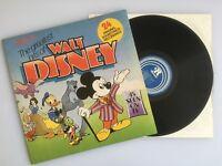 The Greatest Hits of Walt Disney 1975 UK Vinyl LP Record - Excellent Condition - Collectors Item