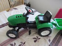 X MASS gift, ride - on - tractor