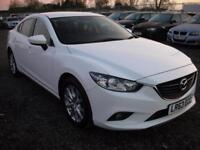 MAZDA 6 2.2 D SE 4d 148 BHP (white) 2013