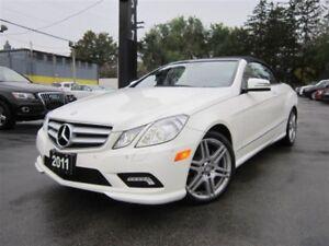 2011 Mercedes-Benz E-Class E350{CONVERTIBLE~NAVIGATION~LOW KMS~3