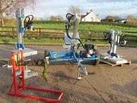 Log Splitter, hydraulic, engine or pto powered, saw horse (SullivansEng)