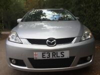 Mazda 5 Sports D- 7 Seater-2007-Diesel-43000 Miles-Full Mazda History-One Owner-Immaculate