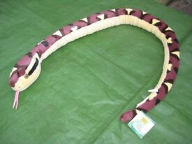 Sharp-nosed Viper Draft Excluder/Toy