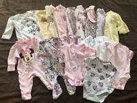 Newborn & 0-3months Baby Girl Bundle 🌸