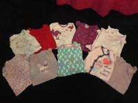 Bundle of sleepsuits age 9-12 months