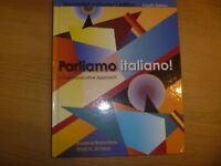 Parliamo italiano Book (4th edition) Brand New Hardcover