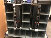 Dell M1000 Chassis and 2x Blades