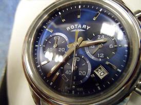 Rotary Chronograph Watch