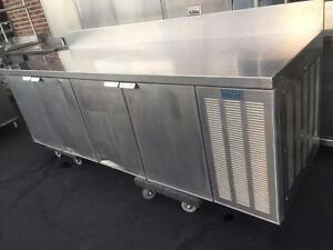 Brute S/S Refrigerated table/ counter 8ft x 30 inch