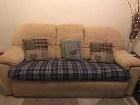 3 seater and chair suite