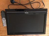"Toshiba 14"" flat screen TV"