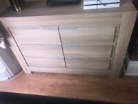 SOLID WOOD SIDEBOARD X 2 And Matching mini Sideboard