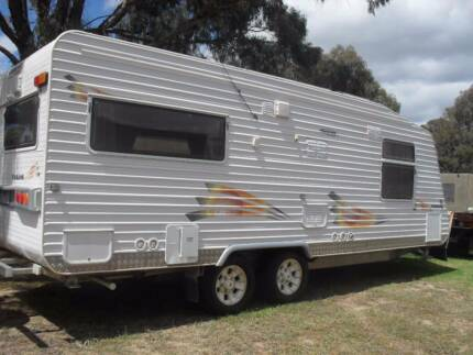 22  FT    CREATIVE CARAVAN   TANAMI  MODEL  WITH TOILET &  SHOWER
