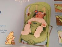 Mothercare 'Winnie the Pooh' deluxe vibrating cradle - 'as new' condition