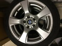 BMW 3 Series E90 17 inch Alloys with Tyres