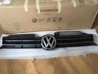 Genuine VW Golf Mk6 front grille and badge