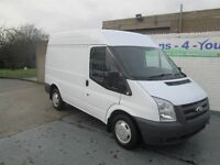 2011 transit short m/roof ex mod f/s/h £4350 buy from £33 per week with £870 down belfast derry