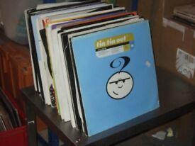 """130 x 12"""" Trance / Electro / Euro / Promo Vinyl Record Collection 1990's"""