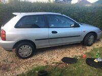 Mazda 323 £375 11 months mot cheap runner